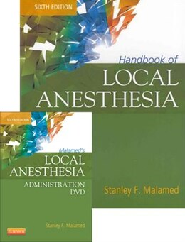 Book Handbook of Local Anesthesia - Book and DVD Package by Stanley F. Malamed