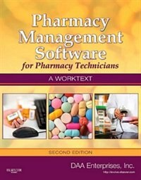 Book Pharmacy Management Software For Pharmacy Technicians: A Worktext by Inc Daa Enterprises, Inc