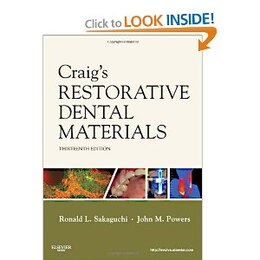 Book Craig's Restorative Dental Materials by Ronald L. Sakaguchi