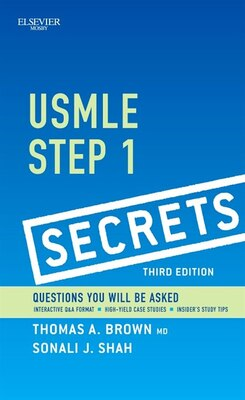 Book Usmle Step 1 Secrets by Thomas A. Brown