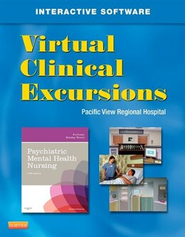 Book Virtual Clinical Excursions 3.0 for Psychiatric Mental Health Nursing by Katherine M. Fortinash