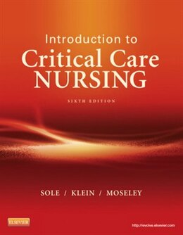 Book Introduction To Critical Care Nursing by Mary Lou Sole