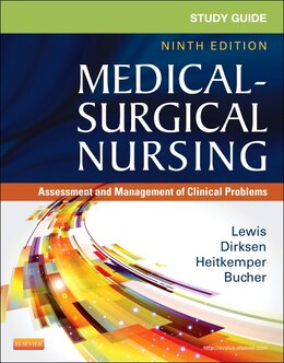 Book Study Guide For Medical-surgical Nursing: Assessment And Management Of Clinical Problems by Sharon L. Lewis