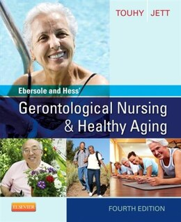 Book Ebersole And Hess' Gerontological Nursing And Healthy Aging by Theris A. Touhy