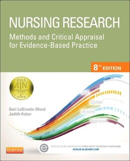 Book Nursing Research: Methods And Critical Appraisal For Evidence-based Practice by Geri LoBiondo-Wood
