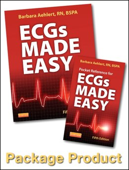 Book Ecgs Made Easy - Book And Pocket Reference Package by Barbara J Aehlert