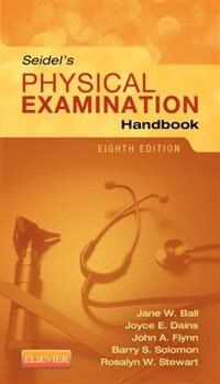 Book Seidel's Physical Examination Handbook by Jane W. Ball