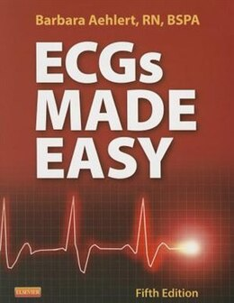 Book Ecg's Made Easy - Text by Barbara Aehlert