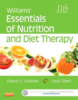 Book Williams' Essentials Of Nutrition And Diet Therapy by Eleanor Schlenker