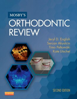 Book Mosby's Orthodontic Review by Jeryl D. English