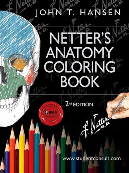 Book Netter's Anatomy Coloring Book: With Student Consult Access by John T. Hansen