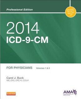 Book Icd-9-cm 2014 Professional Edition For Physicians, Volumes 1 & 2, Compact by Ama