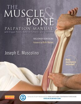 Book The Muscle And Bone Palpation Manual With Trigger Points, Referral Patterns And Stretching by Joseph E. Muscolino