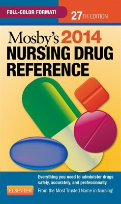 Book Mosby's 2014 Nursing Drug Reference by Linda Skidmore-roth