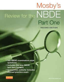 Book Mosby's Review For The Nbde Part I by Mosby