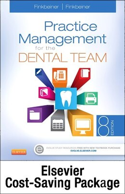 Book Practice Management For The Dental Team - Text And Workbook Package by Betty Ladley Finkbeiner