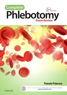 Book Complete Phlebotomy Exam Review by Pamela Primrose