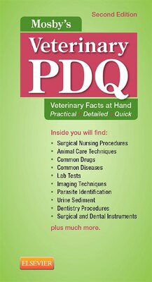 Book Mosby's Veterinary Pdq by Margi Sirois