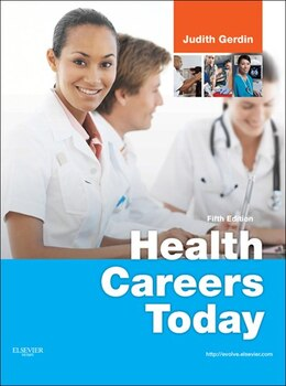 Book Health Careers Today by Judith Gerdin