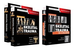 Book Skeletal Trauma (2-volume) And Green's Skeletal Trauma In Children Package: 3-volume: Expert… by Bruce D. Browner