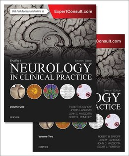 Book Bradley's Neurology In Clinical Practice, 2-volume Set by Robert B. Daroff