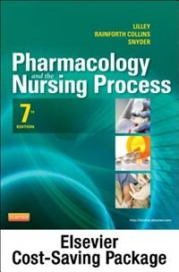 Book Pharmacology And The Nursing Process - Text And Elsevier Adaptive Learning Package by Linda Lane Lilley