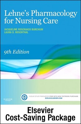 Book Lehne's Pharmacology For Nursing Care - Text And Elsevier Adaptive Learning Package by Jacqueline Burchum