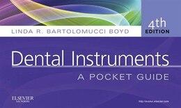 Book Dental Instruments: A Pocket Guide by Linda Bartolomucci Boyd