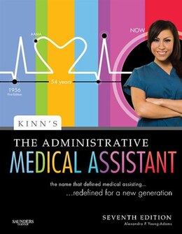 Book Kinn's The Administrative Medical Assistant: An Applied Learning Approach by Alexandra Patricia Adams