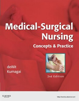 Book Medical-Surgical Nursing - E-Book: Concepts & Practice by Susan C. deWit, MSN, RN, CNS, PHN