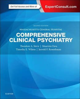 Book Massachusetts General Hospital Comprehensive Clinical Psychiatry by Theodore A. Stern