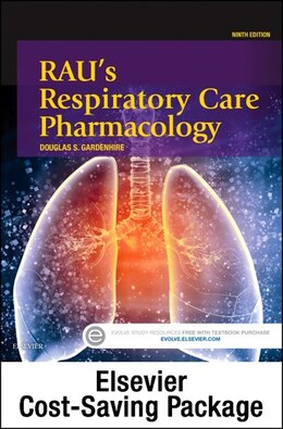 Book Rau's Respiratory Care Pharmacology - Text And Workbook Package by Douglas S. Gardenhire