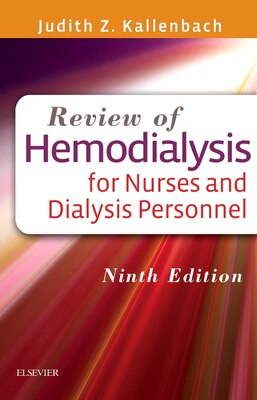 Book Review Of Hemodialysis For Nurses And Dialysis Personnel by Judith Z. Kallenbach