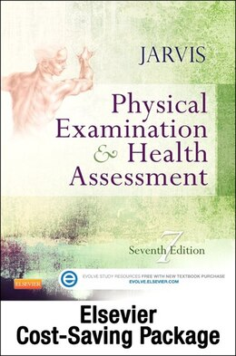 Book Physical Examination And Health Assessment And Elsevier Adaptive Quizzing Package by Carolyn Jarvis