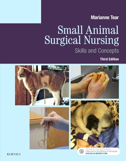 Book Small Animal Surgical Nursing by Marianne Tear