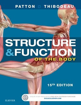 Book Structure And Function Of The Body - Softcover by Kevin T. Patton