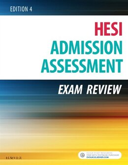 Book Admission Assessment Exam Review by Hesi