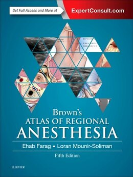 Book Brown's Atlas Of Regional Anesthesia by Ehab Farag