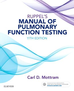 Book Ruppel's Manual Of Pulmonary Function Testing by Carl Mottram