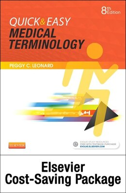 Book Quick And Easy Medical Terminology - Text And Elsevier Adaptive Learning Package by Peggy C. Leonard
