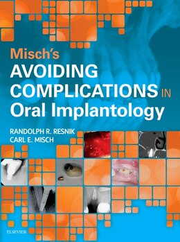 Book Avoiding Complications In Oral Implantology by Carl E. Misch