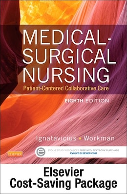 Book Medical-surgical Nursing - Single-volume Text And Elsevier Adaptive Learning (access Card) Package by Donna D. Ignatavicius