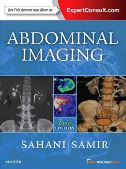 Book Abdominal Imaging: Expert Radiology Series by Dushyant V Sahani