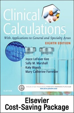 Book Drug Calculations Online For Kee/marshall: Clinical Calculations: With Applications To General And… by Joyce Lefever Kee