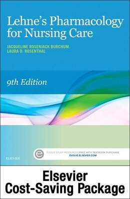 Book Lehne's Pharmacology For Nursing Care - Text And Elsevier Adaptive Quizzing (access Card) Package by Jacqueline Burchum