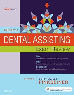 Book Mosby's Dental Assisting Exam Review by Mosby