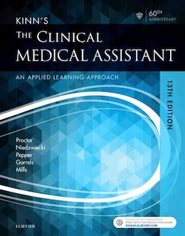 Book Kinn's The Clinical Medical Assistant: An Applied Learning Approach by Deborah B. Proctor