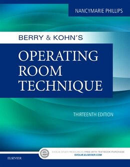Book Berry And Kohn's Operating Room Technique by Nancymarie Phillips
