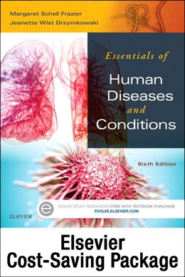 Book Essentials Of Human Diseases And Conditions - Text And Elsevier Adaptive Learning Package by Margaret Schell Frazier