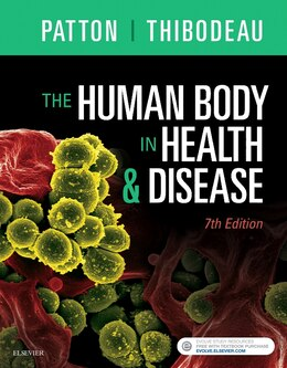 Book The Human Body In Health And Disease - Hardcover by Kevin T. Patton